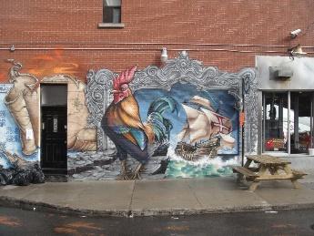 coq et bateau