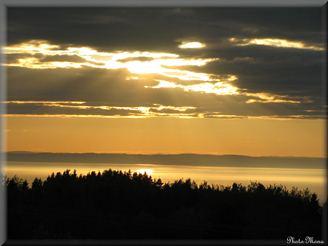 coucher de soleil bas saint laurent