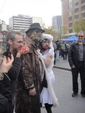 amoureux zombies et vampires