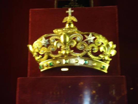 couronne du trésor de notre dame de paris