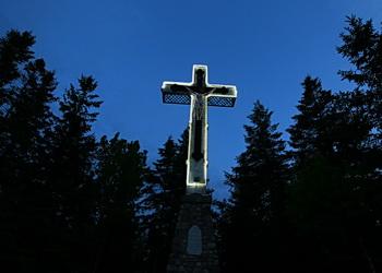 La croix du bic, la croix du mont Saint-Louis