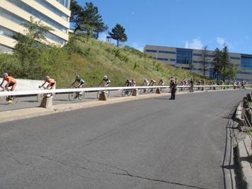 cyclistes tour de l'ile de montréal