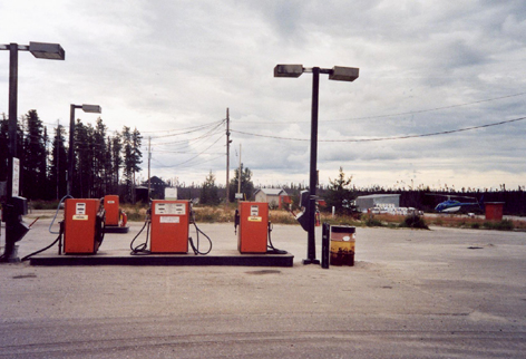 dernier plein d'essence au km 381