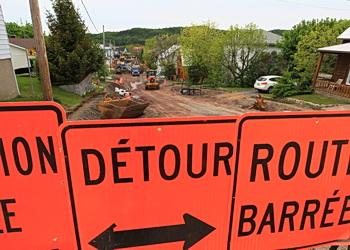 detour route barree
