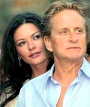 Michael Douglas et Catherine Zeta Jones