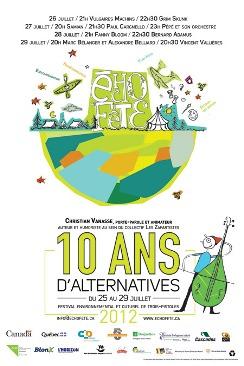 echofete, affiche edition 2012