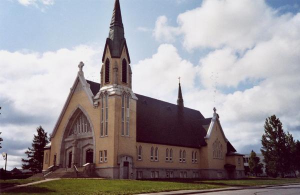 L'église de Malartic