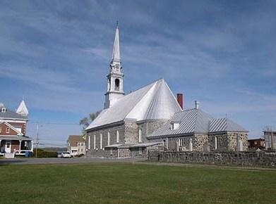 l'église de Sainte-Angèle-de-Laval
