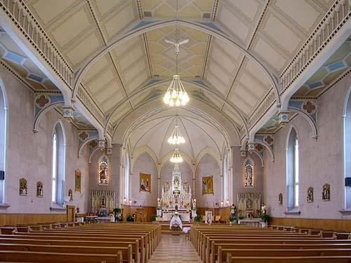 Église de Ste-Justine-de-Newton