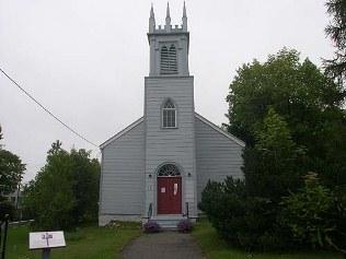vue générale de l'église st barthelemy