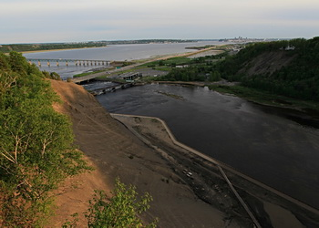 embouchure de la rivière Montmorency