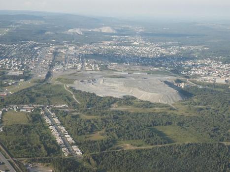 Travail à Thetford Mines