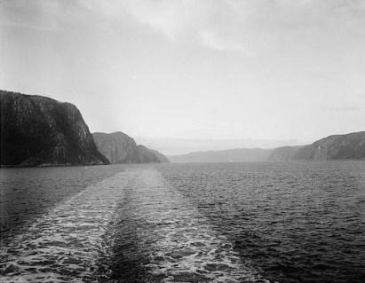 entrée fjord du saguenay