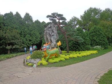 entrée au jardin chinois