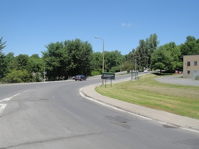 entree au parc chemin remembrance
