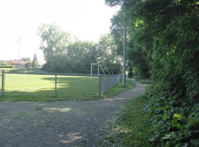 entrée parc sablon
