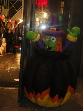 entrepot de l'halloween sorciere