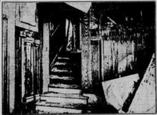 escalier palace laurier