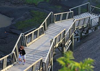 escaliers de la chute montmorency