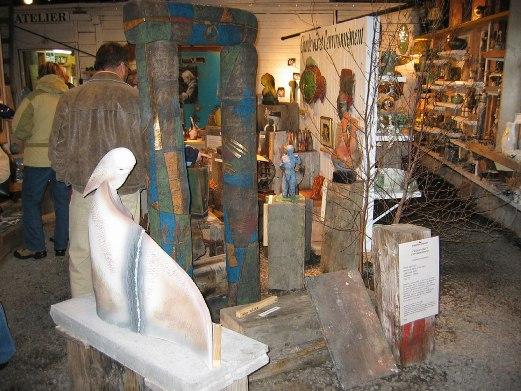 espace galerie-boutique poterie