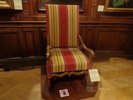 fauteuil du seigneur