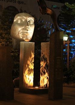 flamme de bronze