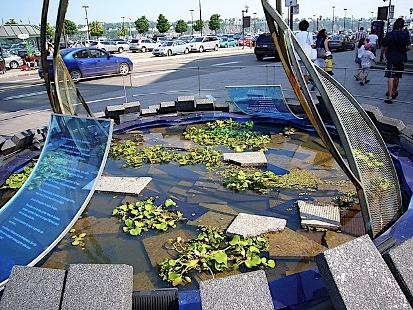 une fontaine de québec