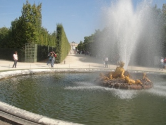 fontaines de versailles
