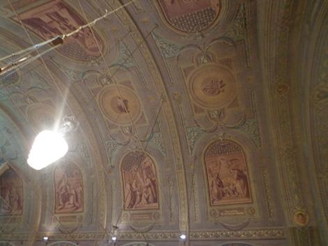 fresques de la chapelle