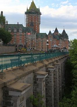 fairmont chateau frontenac et terrasse dufferin