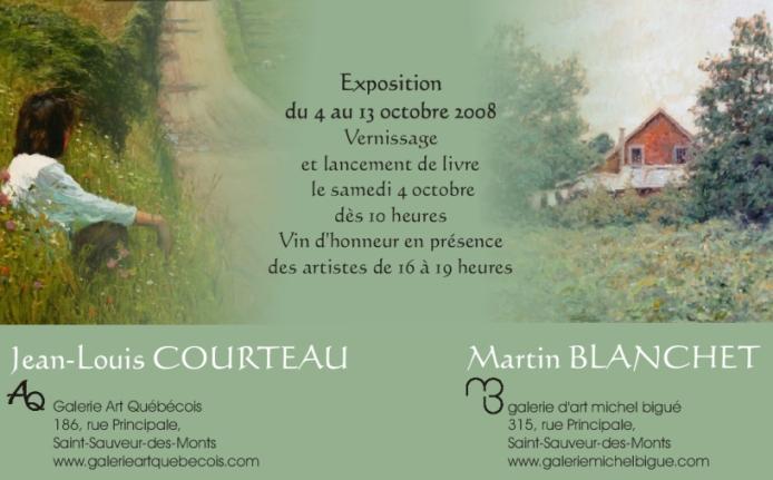 Martin Blanchet et Jean-Louis Courteau