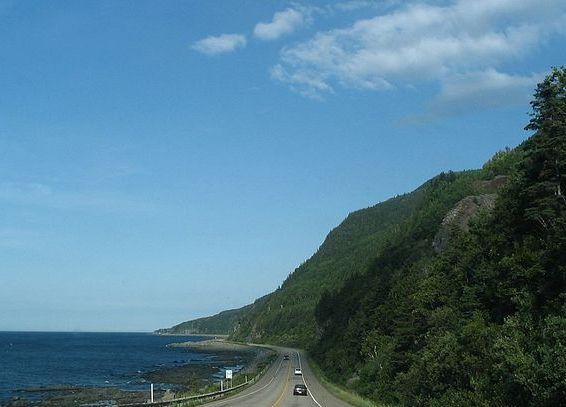route gaspésie