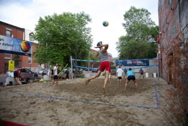 volleyball gai village