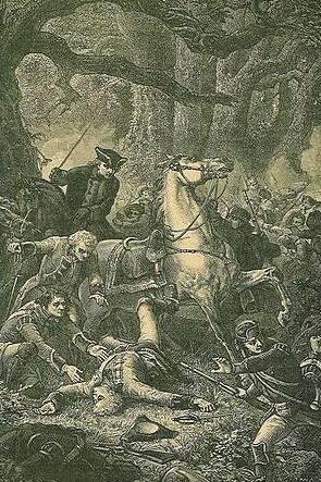 la mort du général braddock