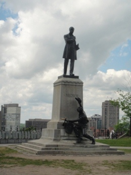 monument george brown