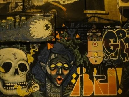 graffiti racisme montreal