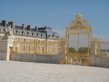 grille or versailles