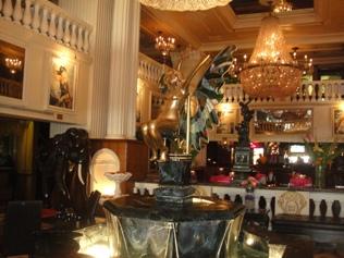 hall entrée hotel de la montagne