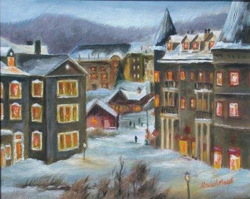 L'heure joyeuse à Mont-Tremblant de Marie-Hélène Massé