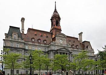 hotel de ville de montréal