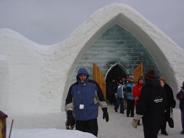 igloo bar hotel glace