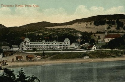 hotel tadoussac dans les 1930