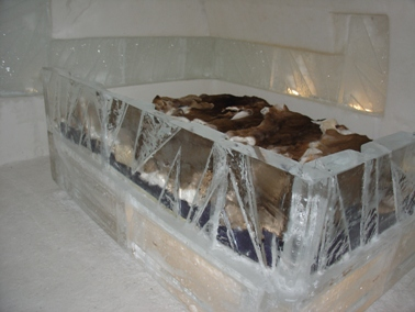 hote de glace