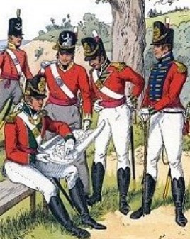 infanterie anglaise