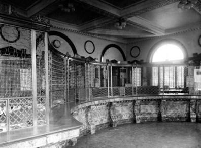 interieur banque montréal