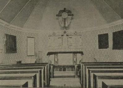intérieur église tadoussac