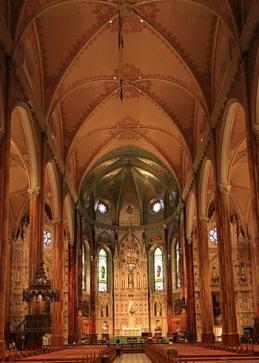 interieur de saint patrick