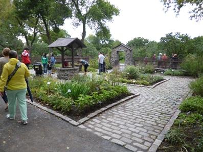 jardin de monastère