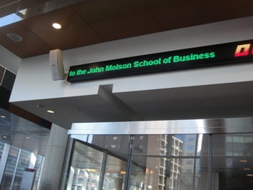 john molson école business