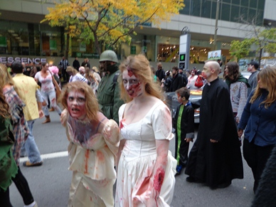 jolies filles zombies